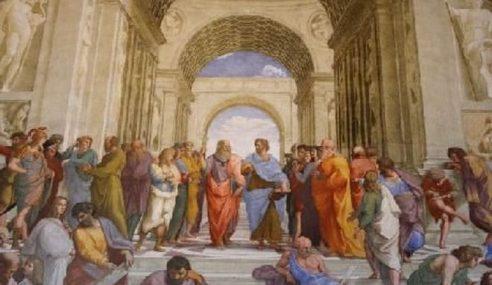 Socrate, una cena tra filosofi